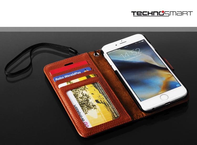 Technosmart Smartphone case met magnetische clip