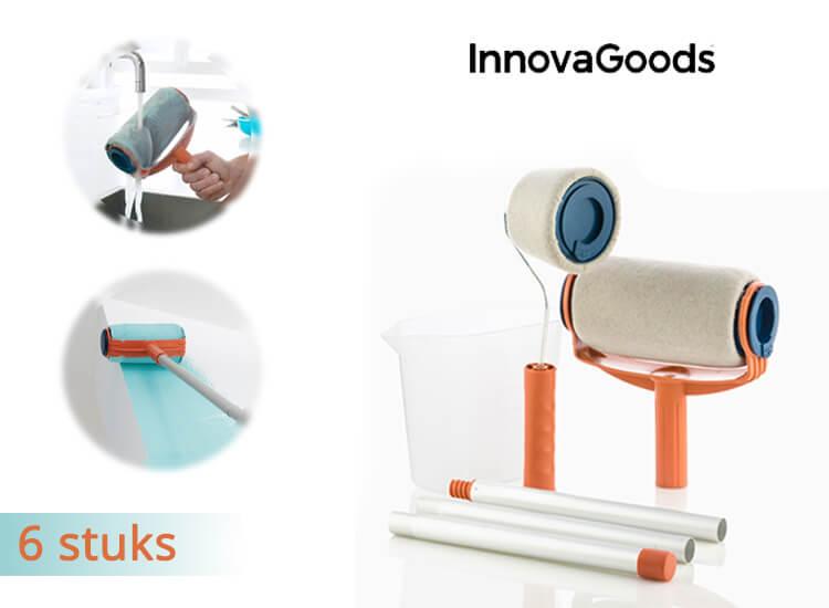 InnovaGoods set - Navulbare anti-drup verfrollers