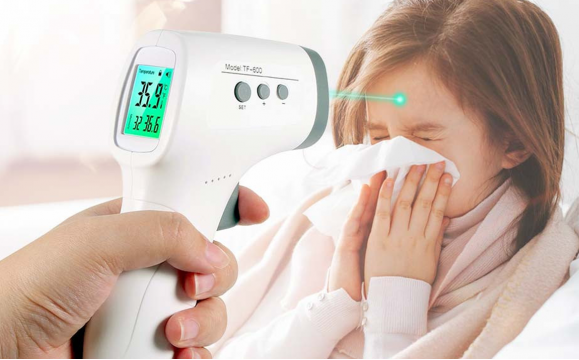 Infrarood Thermometer GP-300 met LCD Display