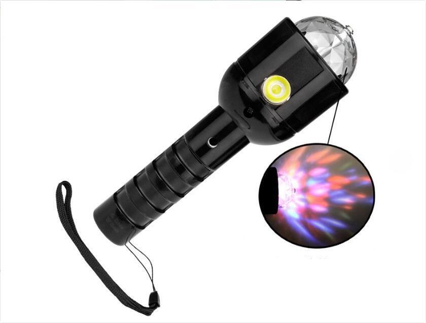 Afbeelding van Deluxa Disco LED Verlichting RGB Draait 360 graden Zaklamp