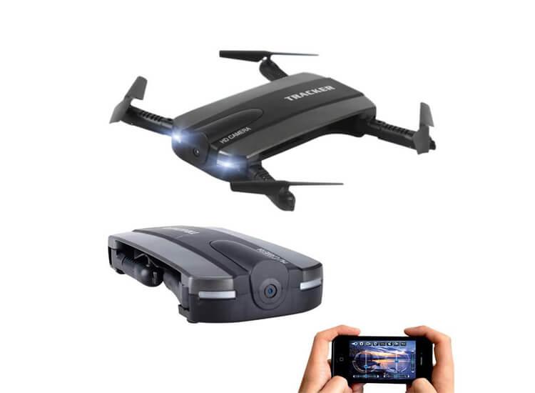 Selfie Drone met Camera en Wifi in Zakformaat