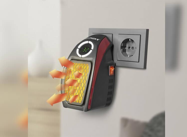 Afbeelding van Easymaxx Mini heater stopcontact verwarming