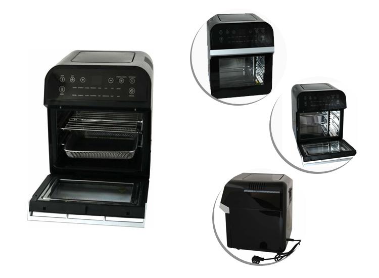 Afbeelding van Deski Airfryer - Hetelucht Friteuse - 12 Liter - 1600 Watt