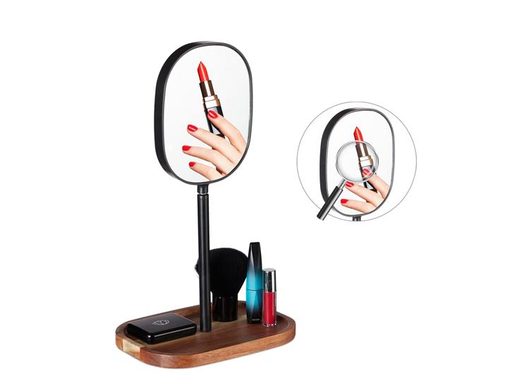 Relaxdays Make-up Spiegel - 3x Vergroting - Draaibaar