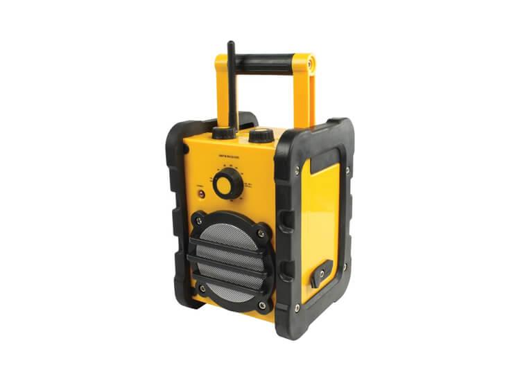 Afbeelding van Basic XL spatwaterbestendige draagbare FM-radio