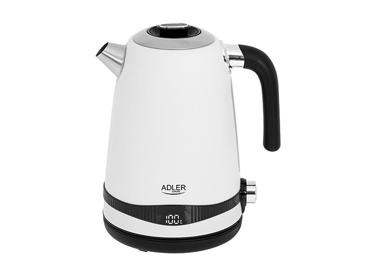 Adler AD-1295 Elektrische Waterkoker - 1,7L - Wit