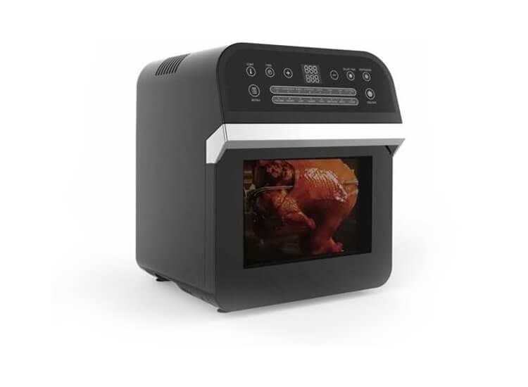 Afbeelding van Cuisinier Deluxe Airfryer - Hetelucht Friteuse - 12 Liter/1600W