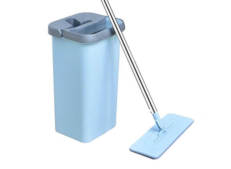 Afbeelding van Benson Clean Flat Mop - Met Zelfreinigend Mechanisme