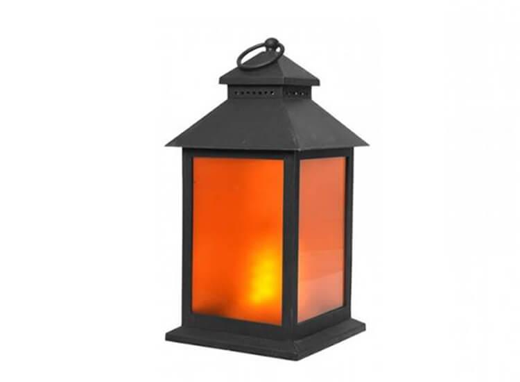 Afbeelding van Benson led lantaarn flame effect