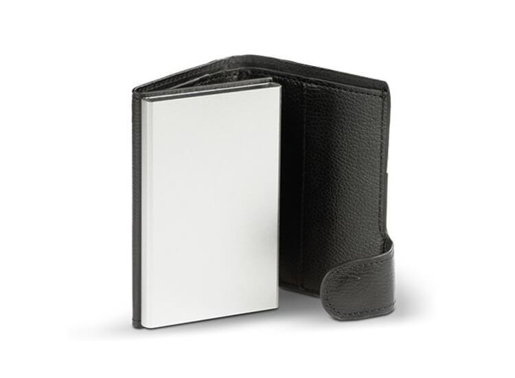 Afbeelding van Card Guard Uitschuifbare portemonnee Zwart