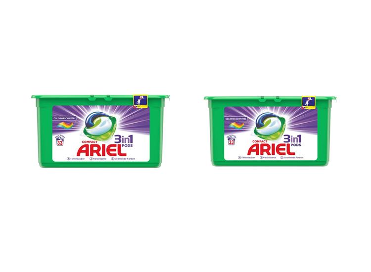 Afbeelding van Ariel 3in1 pods colour - 66 wasbeurten