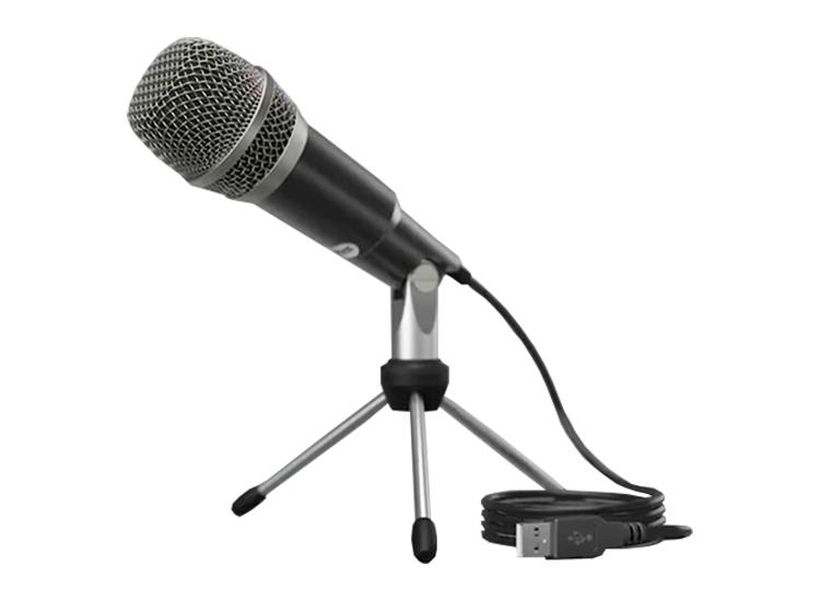 Fedec USB Microfoon - Inclusief standaard, plopkap en USB