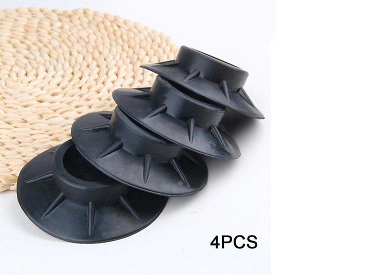 Trillingsdempers Voetjes Wasmachine & Droger - Anti Trillings - Vibratie Dempers Pads - Antislip Rub