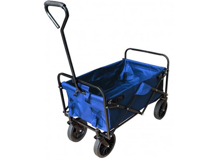 Benson Opvouwbare Bolderwagen - bolderkar - Blauw