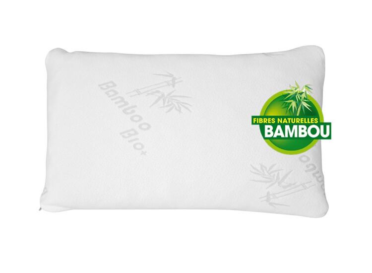 DealDonkey-Herzberg HG-5076 bamboe kussen - Hypoallergeen en antibacterieel-aanbieding