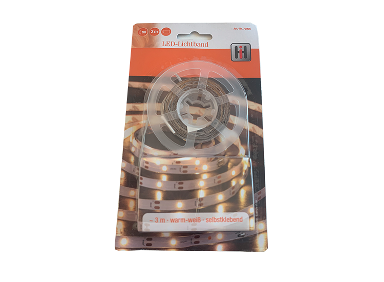 LED Lichtstrip - 3 Meter - Multikleur of Warm Wit