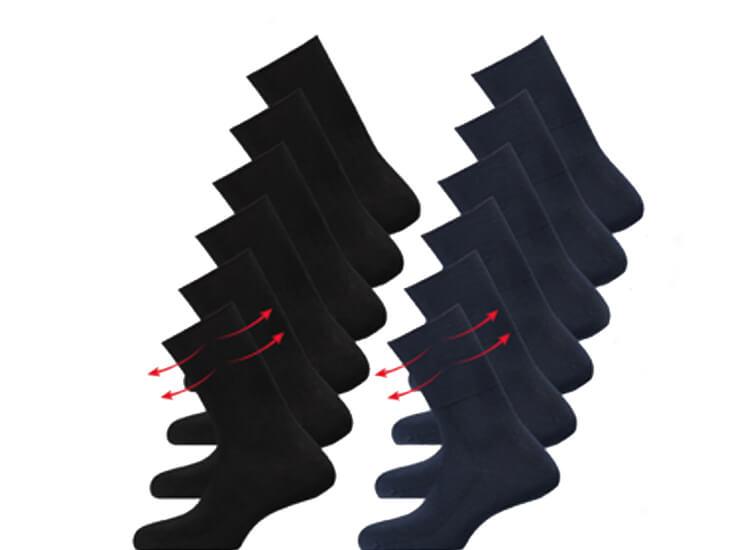 Afbeelding van Apollo Anti-press sokken; helpt bij een verstoorde bloedsomloop - 6 Paar