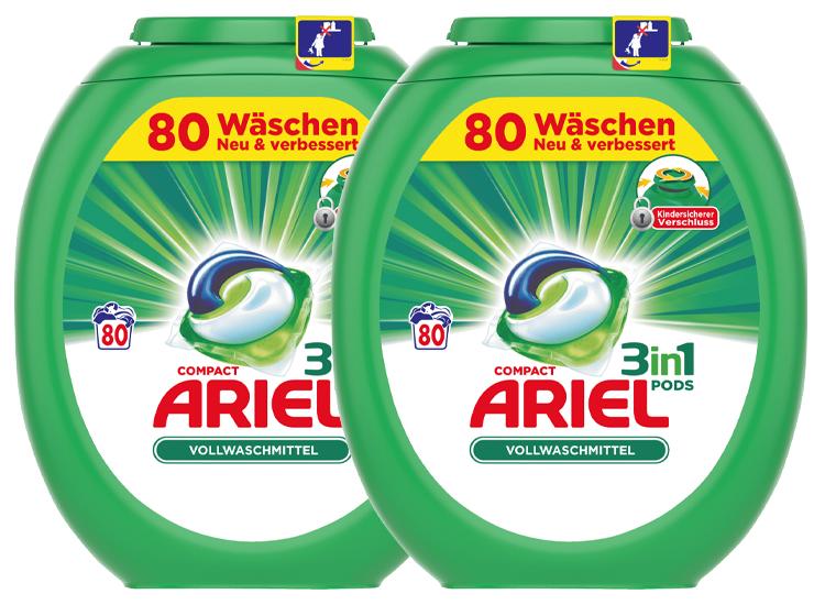 Afbeelding van Ariel 3in1 Pods Regular - 160 pods