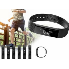Fit Activity Tracker - Met o.a. stappenteller, afstandmeter en calorieënteller