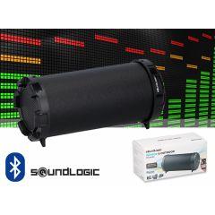 Soundlogic mini Bazooka Bluetooth speaker – Draadloos muziek streamen vanaf je smartphone, tablet of laptop