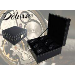 Deluxa Horlogebox geschikt voor 6 horloges