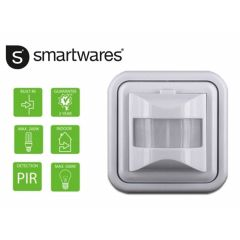 Smartwares Infrarood bewegingsdetector: Automatische verlichting aan/uit schakelen