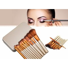 Make-up kwasten set - 12 stuks