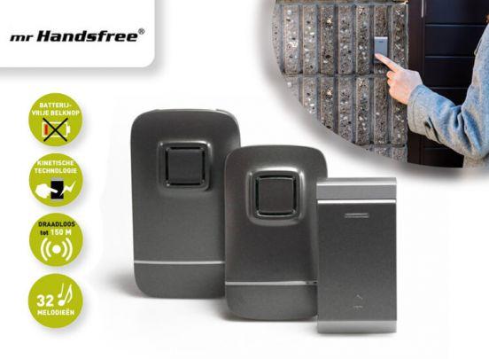 mr Handsfree iBell Set KB300 - Draadloze deurbel  - geen batterijen nodig