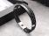 Lederen Armband - Heren - Met zwarte of zilveren accenten
