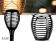 V-tac VT-719 Solarlamp fakkel met bewegende vlam en schemersensor