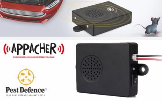 Appacher Ultrasone Marterverjager Voor In De Auto - Milieu- En Diervriendelijk
