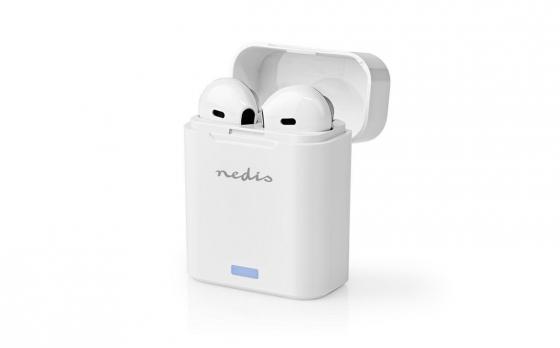Nedis Draadloze Bluetooth-oordopjes   3 uur Afspeeltijd   Spraakbediening