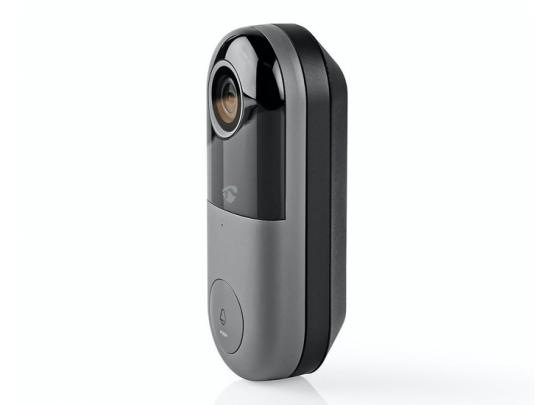 Nedis Videodeurbel - HD 720P - Bediening via App - MicroSD-Sleuf