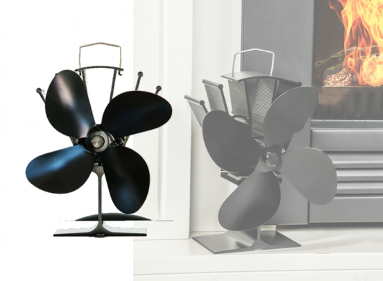 Kachel Ventilator - Gemakkelijk de warmte van je kachel verspreiden