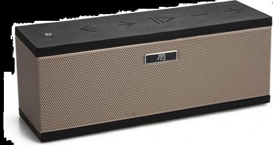 Stereoboomm 500+ draadloze speaker - maak van je mobiel of tablet een audiosysteem-Goud