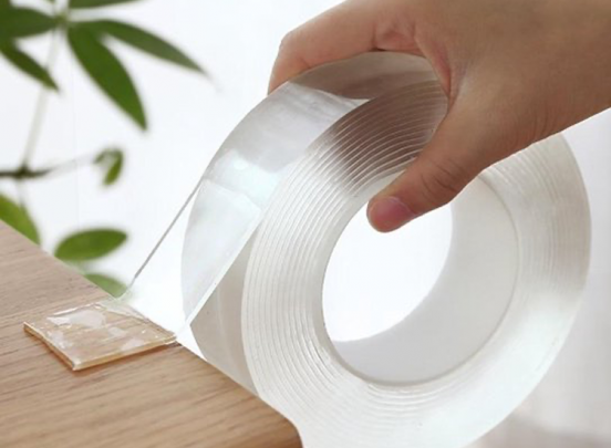 Nano-tape - 5 meter - Transparant