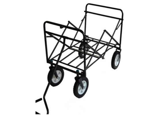 Opvouwbare Bolderwagen / bolderkar met brede wielen - max. 80kg