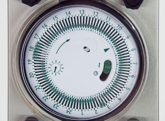 Grafner Tuinstekkerpaal met timer