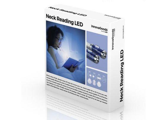 InnovaGoods Ledleeslamp voor de Nek