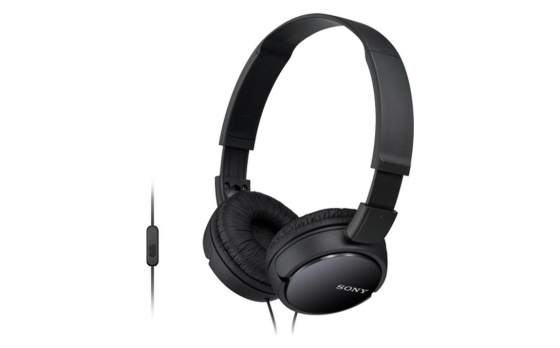 Sony Headphones with Built-in Mic ZX-series - black