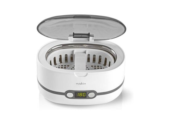 Nedis juwelenreiniger - 600 ml - met digitale timer