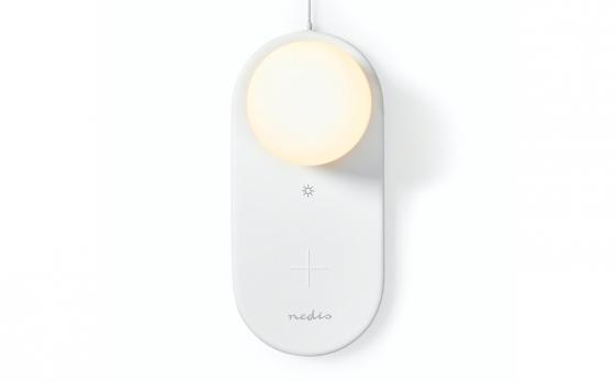 Nedis LED-nachtlamp met oplader en Touch-Bediening