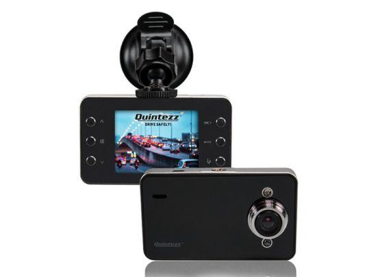 Quintezz Dashcam - HD 720P - Bewegingsdetectie - Auto Loop Recording