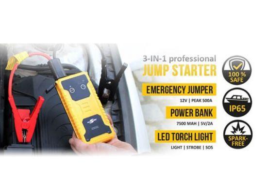 mr. Safe Jumpstarter JS7500 - Starthulp