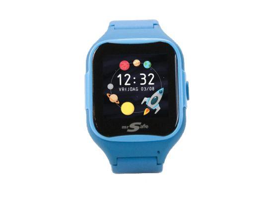 Mr Safe Smart Kids - Smartwatch voor kinderen - Blauw