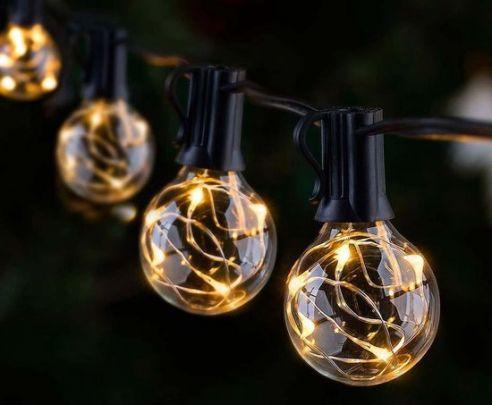 LED Lichtslinger - 8 meter met 10 lampen