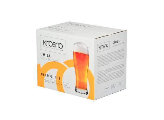 Krosno Chill Collection Bierglazen - Set van 6 - 500ml