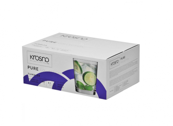 Krosno Pure Collection Tumblerglazen - Set van 6 - 250ml