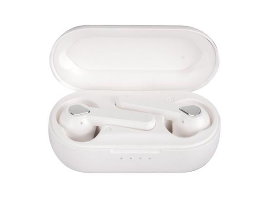 FlinQ Alume - Volledig draadloze Oordopjes - Wit - Bluetooth - Incl. Microfoon