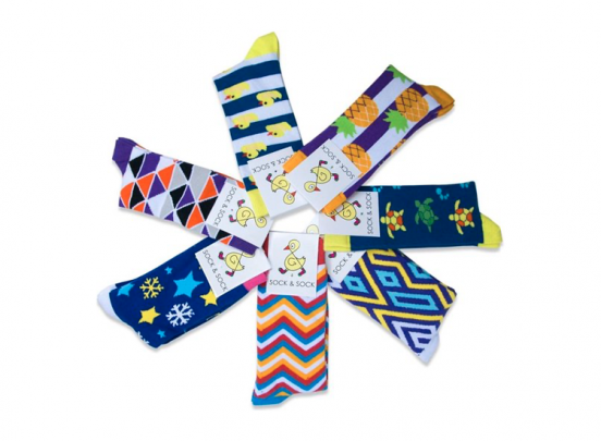 Sock & Sock vrolijke sokken - 7 paar